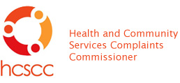 Health and Community Services Complaints Commissioner logo